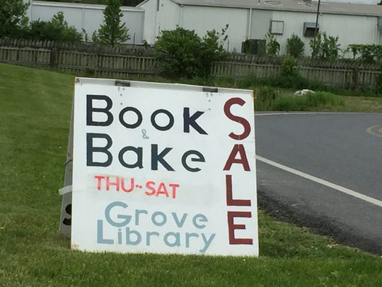 Used book sales last weekend drew crowds at both Grove Family Library in Guilford Township and Wilson College in Chambersburg