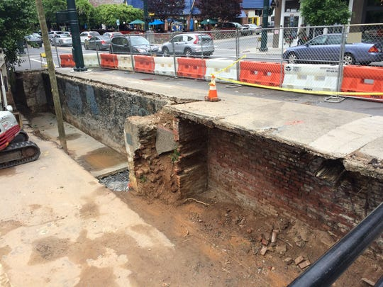 The $250,000 replacement of the vaulted sidewalk on