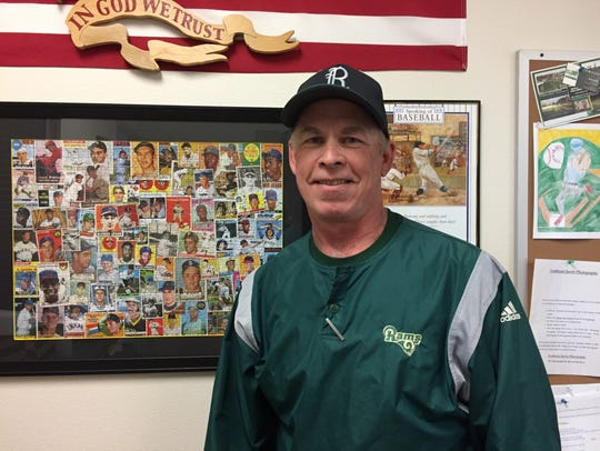 Regis baseball coach Don Heuberger has led the Rams