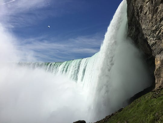 A 20-minute Hornblower cruise visits several falls,