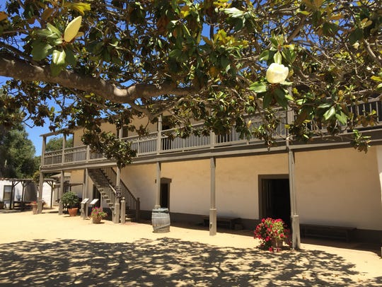 The Olivas Adobe in Ventura was built in 1847 and welcomes