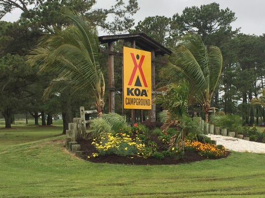 A ribbon cutting ceremony for the Chincoteague Island KOA Campground was held on Wednesday, May 24, 2017 in Chincoteague, Virginia.
