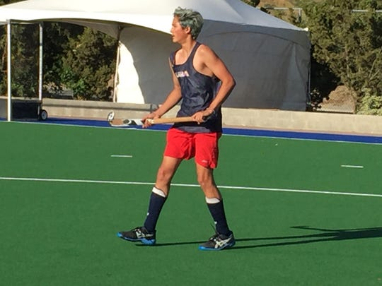 Conejo Bulldogs field hockey player Rajen Gupta is one of many local players taking part in this week's 46th annual Cal Cup field hockey tournament at Moorpark College.