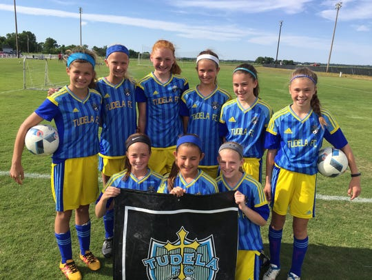 Pizza fundraiser A group of dedicated 12 year old soccer