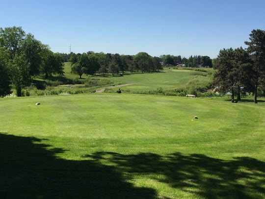 The 90-year-old Groesbeck Golf Course, owned by the