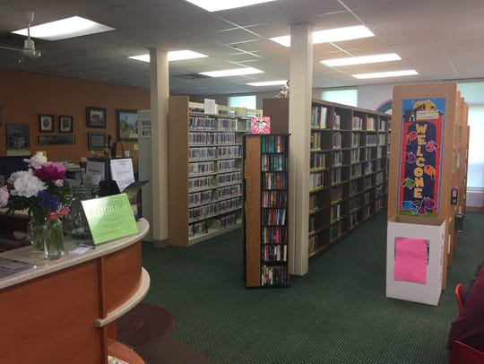 The Fowlerville District Library, pictured Wednesday,