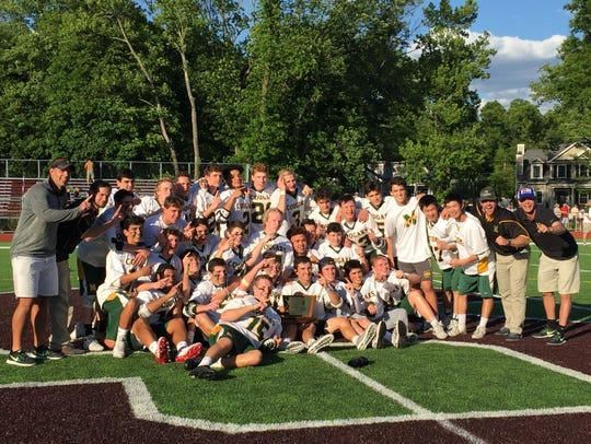 The  Montgomery boys lacrosse team won its first Group