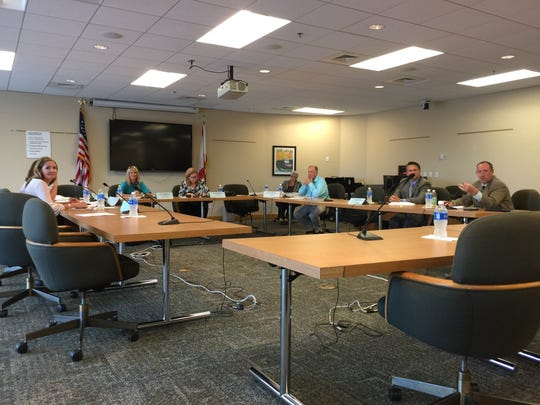 The Climate Mitigation and Adaptation Task Force met at City Hall on June 1, 2017, to further develop strategies for limiting the impact of climate change in Northwest Florida.