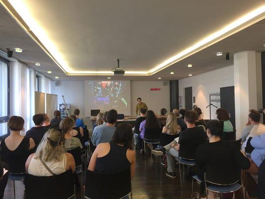 André Muller teaches Klingon in Switzerland.