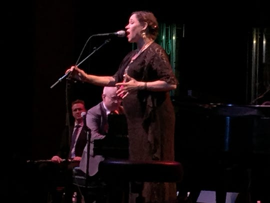 China Forbes sings Friday night as Pink Martini plays
