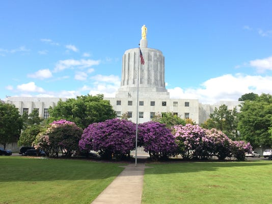 Oregon Capitol in June.
