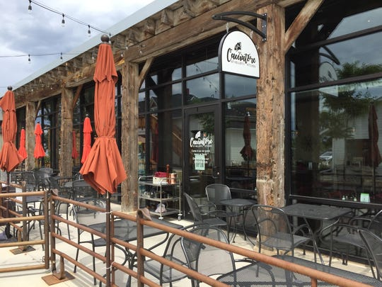 Cacciatore at Heller's Kitchen offers inside and outside