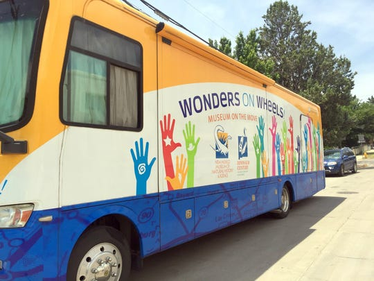 Wonders on Wheels was in Silver City on Tuesday afternoon and parked in front of the Silver City Public Library.
