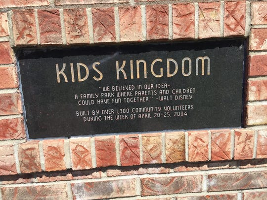 Kids Kingdom opened 17 years ago. It began as a project
