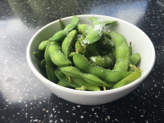 Kona Grill offers edamame as an appetizer on their