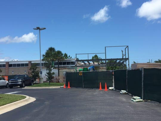 Construction is currently underway to expand the Titusville