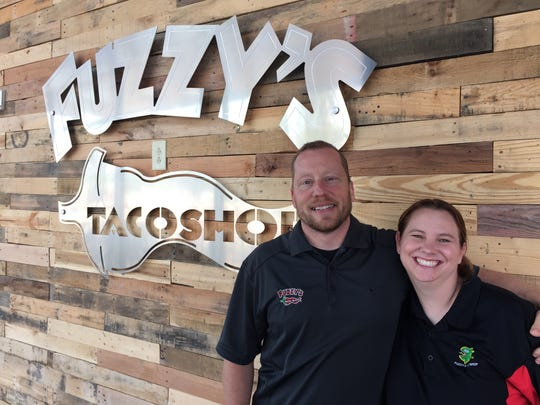Sean and Sarah Chambers moved to Murfreesboro to open Fuzzy's Taco Shop, located at 1500 Medical Center Parkway, Suite 1K.