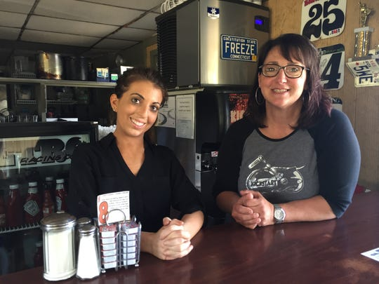 Allison Russell, left, and Peg Miller, co-owner of The Kickstart Cafe.