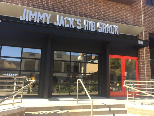 The Jimmy Jack's Rib Shack's new downtown Iowa City