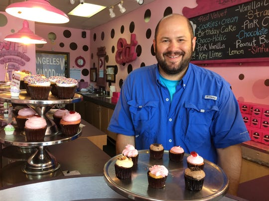 Brent Edson, owner of Smallcakes -- A cupcakery.