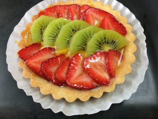 Fruit tart at Treva's Pastries & Fine Foods.