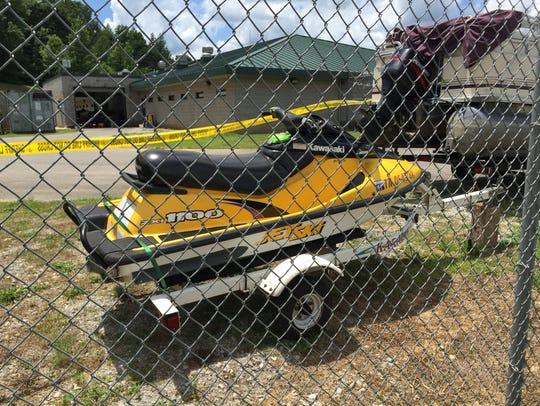 Lexie Norfleet was a passenger on this Jet Ski when