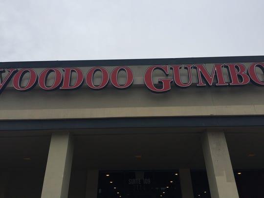 Voodoo Gumbo is in Bellevue Plaza in Nashville.
