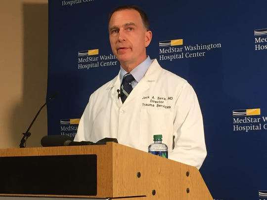 Dr. Jack Sava, director of trauma at the MedStar Washington