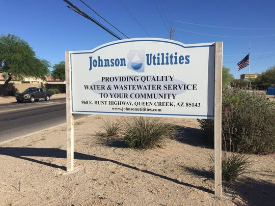 Johnson Utilities has about 23,000 water and 35,000 wastewater customers in Pinal County.