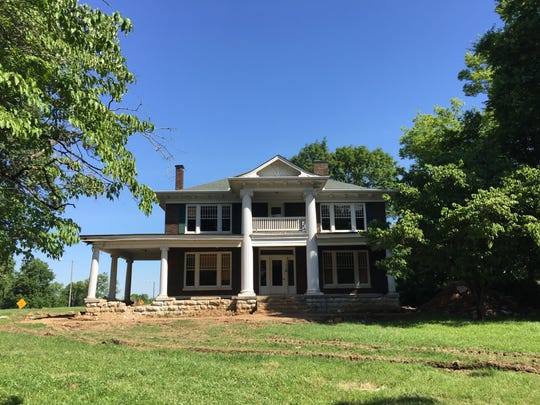This historic home located at 554 W. Main St. in Gallatin will be moved to be used as office space for the city's engineering department.
