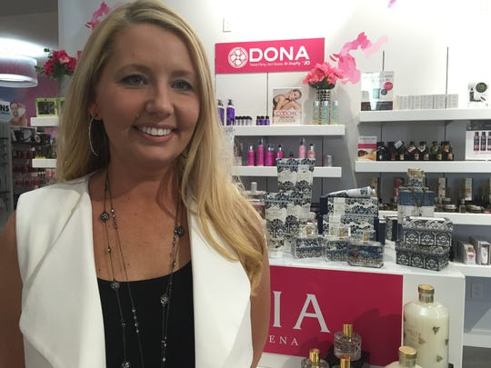 Keri Birchby, a buyer for Fascinations, selects the products sold in stores.