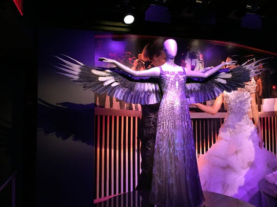 Katniss Everdeen's iconic Mockingjay dress.