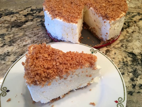 This old-fashioned no-bake cheese torte is mildly sweet,