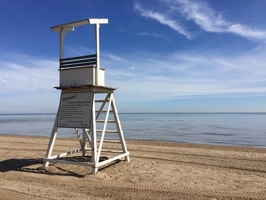 The swimming beach at Ontario Beach Park opens June 22 for the 2018 summer season.