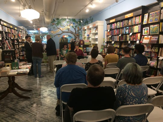 Midtown Reader's fourth Read to Lead event was attended by roughly 30 people.