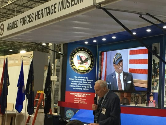 Armed Forces Heritage Museum President Robert von Bargen speaks about the mission of its new mobile museum to tell the story of New Jersey military  history.