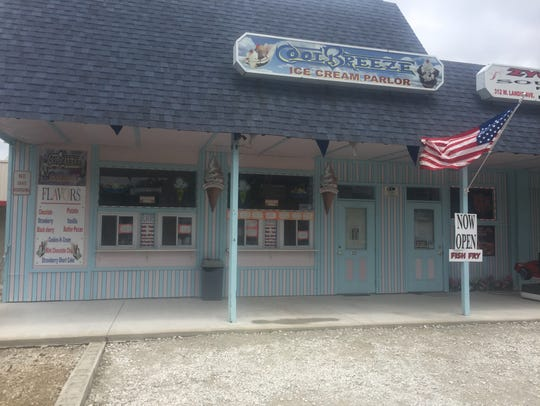 The owner of Cool Breeze Ice Cream Parlor on Landis