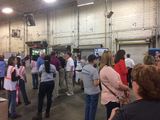 Electrolux welcomed community residents, workers and