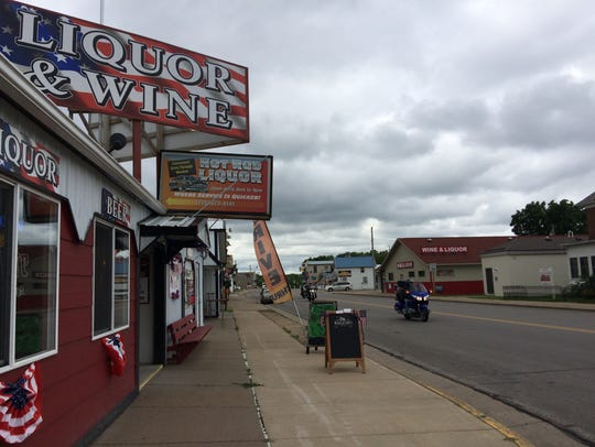 Nelson features two liquor stores, three taverns and