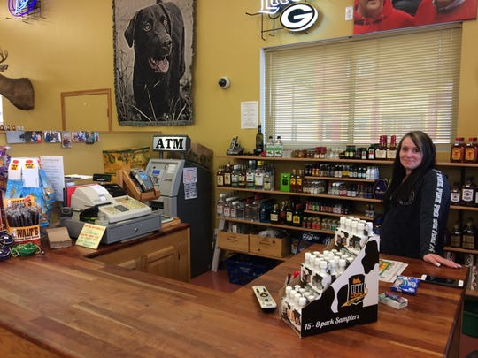 Mandy Davis is the manager of Nelson Discount Liquor in Nelson.