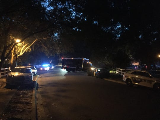 TPD SWAT team at Royal Oaks home in Killearn.