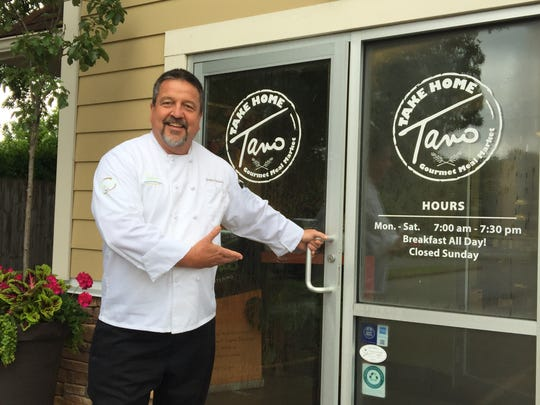 Tano Williams continues to serve patrons from his Take  Home Tano on Loveland-Madeira Road while efforts to rebuild Tano Bistro & Catering get underway in historic Loveland.