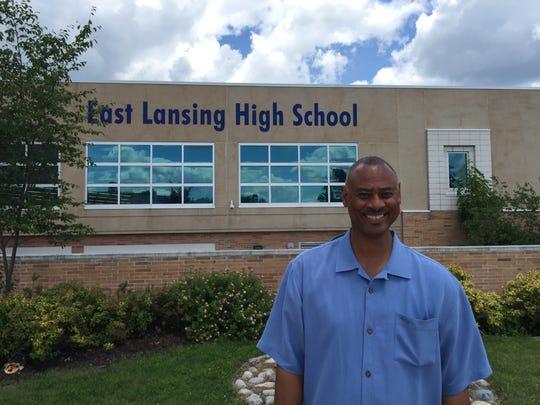 Andrew Wells, East Lansing High School's incoming principal,