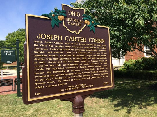Getting a historical marker for Chillicothe native