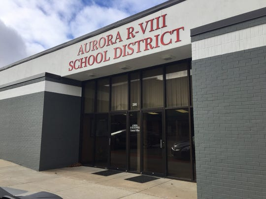 Travis Shaw has been superintendent of the Aurora school