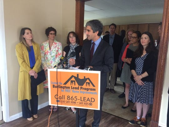 Mayor Miro Weinberger announces a $2.9 million grant