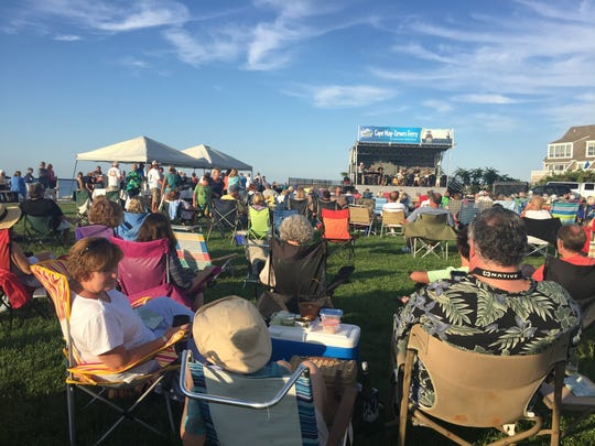 """The Funsters perform at the Cape May-Lewes Ferry's free """"Concert on the Lewes Green"""" concert series, held every other Thursday during the summer."""