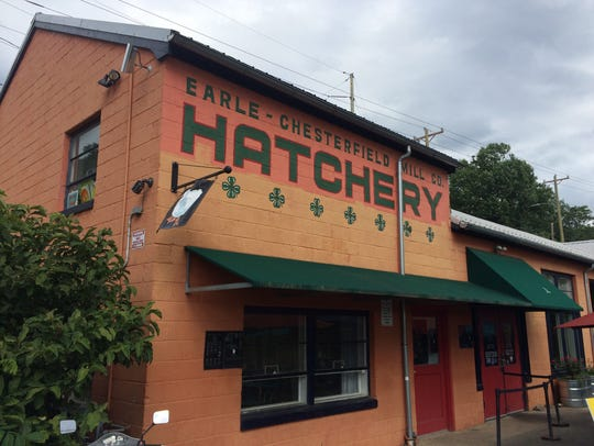 The Hatchery building in the River Arts District, home