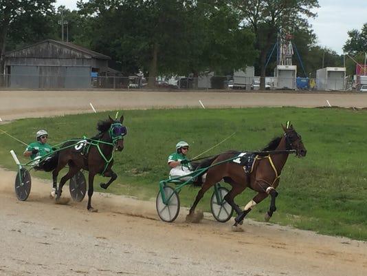 Marion County Fair harness racing