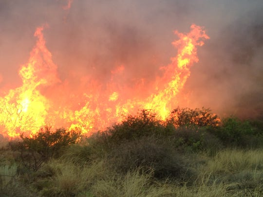 Swisshelm fire continues to burn grass and brush 10